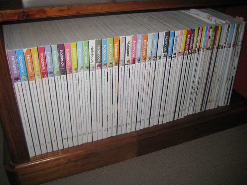 Recycling magazines