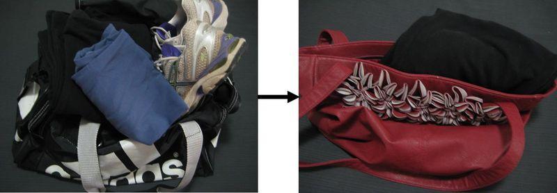 Minimising fitness gear
